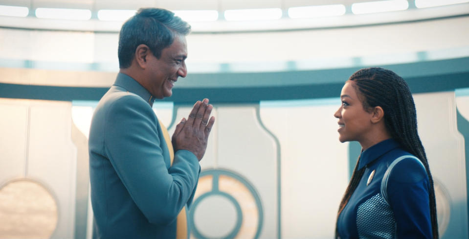 """A scene from the season 3 finale of """"Star Trek: Discovery."""""""