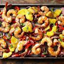 <p>Here's a shrimp sheet pan supper that's roasted and caramelized to perfection! The pineapple in this recipe makes a sweet sauce that balances the heat of the Jamaican jerk seasoning.</p>