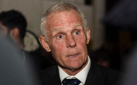 <span>Shane Sutton walked out of the hearing on Tuesday and has not returned</span> <span>Credit: Mercury Press </span>