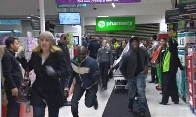 Black Friday: Police Anger Amid Retail Frenzy