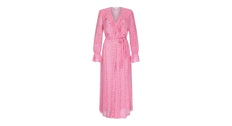 SU Dress Lainey Heart Pink