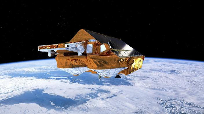Artwork: Esa has flown a continuous series of radar satellites since the early 1990s