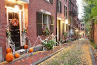 """<p>Go all out by framing your entrance with spider webs, which are sure to give trick-or-treaters a good laugh. Hang an eyeball wreath on your front door and place a few carved pumpkins on your stairs to pull the look together. </p><p><a class=""""link rapid-noclick-resp"""" href=""""https://www.amazon.com/Halloween-Spider-Stretch-Cobweb-Decoration/dp/B07VL93WPL/?tag=syn-yahoo-20&ascsubtag=%5Bartid%7C10055.g.32948621%5Bsrc%7Cyahoo-us"""" rel=""""nofollow noopener"""" target=""""_blank"""" data-ylk=""""slk:SHOP FAKE SPIDER WEB"""">SHOP FAKE SPIDER WEB</a></p>"""