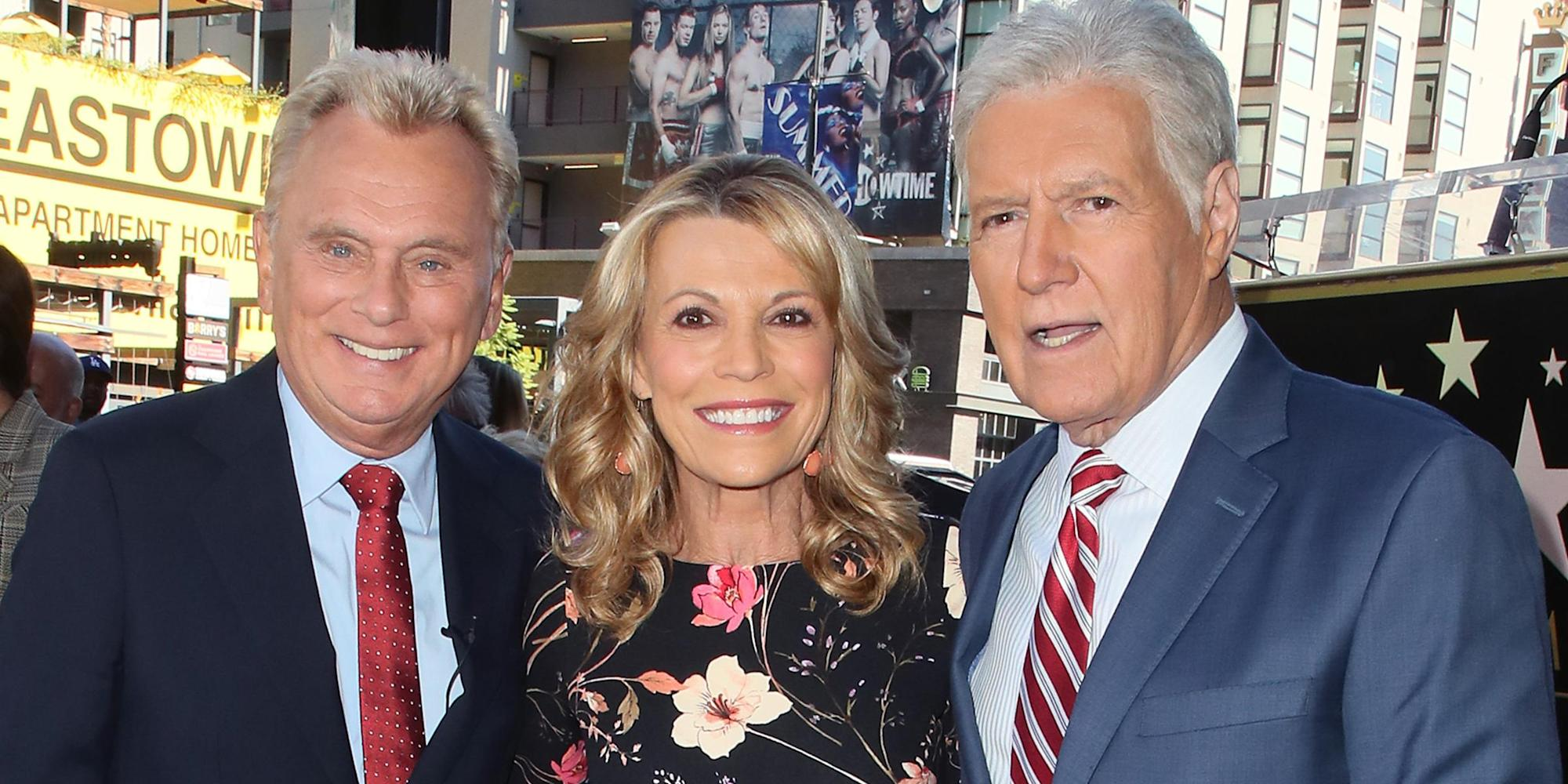 Pat Sajak and Vanna White remember Alex Trebek: 'He is just part of the family'