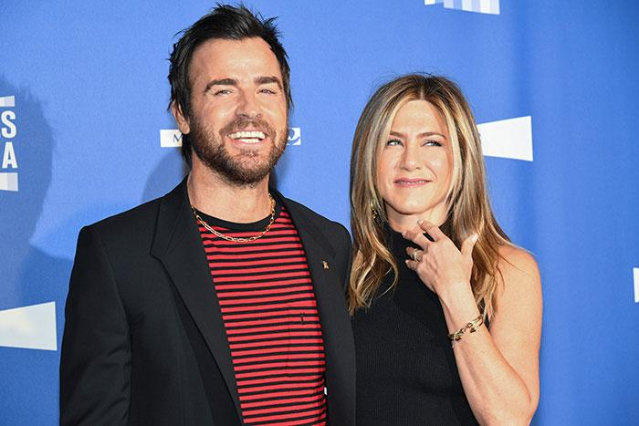 Jennifer Aniston con Justin Theroux