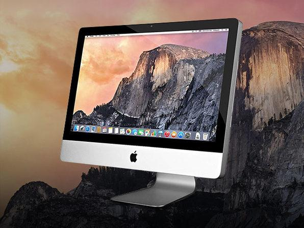 The Apple iMac: A thing of beauty. (Photo: Yahoo Lifestyle Shop)