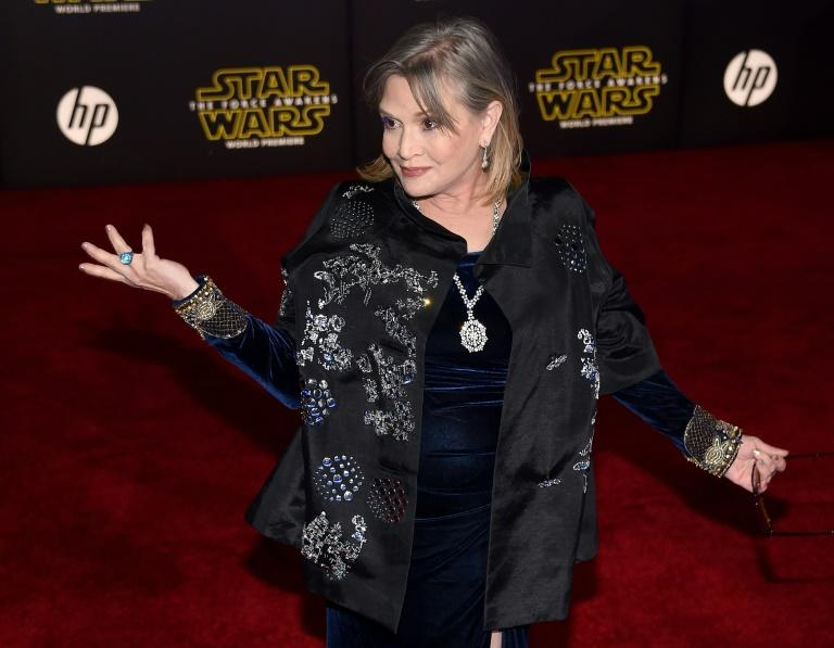Carrie Fisher reportedly rushed to hospital after a 'major' heart attack