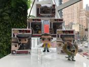 <p>Turn back the <em>Jurassic </em>clock to Steven Spielberg's 1993 blockbuster with these new Funko POP figures including Alan Grant, Ian Malcolm, and Isla Nublar's top T. Rex. (Photo: Adam Lance Garcia) </p>