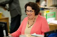 <p>Phyllis played Phyllis Vance, who's known as the quiet one around the office (even though she not-so-secretly loves to gossip). </p>