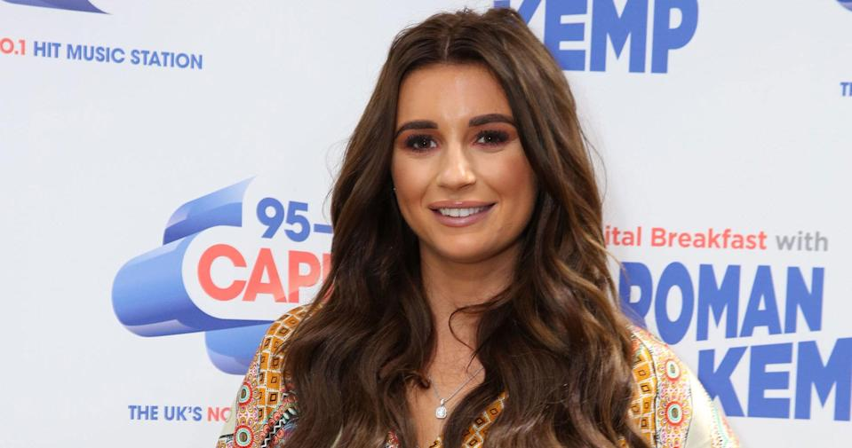 """<p>Dani Dyer, the 22-year-old daughter of <em>EastEnders </em>actor Danny Dyer, became a standout star on this year's Love Island thanks to her old-fashioned values and down to earth attitude. And her fanbase didn't take too kindly when <em>Love Island</em> producers made it seem like her co-star and boyfriend Jack Fincham was cheating on her with his ex. Clever editing deceived Dyer, and <a rel=""""nofollow"""" href=""""https://uk.news.yahoo.com/650-people-complained-ofcom-love-island-gaslighting-dani-dyer-093915362.html"""" data-ylk=""""slk:f;outcm:mb_qualified_link;_E:mb_qualified_link;ct:story;"""" class=""""link rapid-noclick-resp yahoo-link"""">f</a><a rel=""""nofollow"""" href=""""https://uk.news.yahoo.com/650-people-complained-ofcom-love-island-gaslighting-dani-dyer-093915362.html"""" data-ylk=""""slk:ans slammed the deception as 'gaslighting';outcm:mb_qualified_link;_E:mb_qualified_link;ct:story;"""" class=""""link rapid-noclick-resp yahoo-link"""">ans slammed the deception as 'gaslighting'</a>. And since leaving the reality show the couple have had their ups and downs. Weeks ago Dyer announced they'd broken up which was quickly followed by Fincham <a rel=""""nofollow"""" href=""""https://uk.news.yahoo.com/won-show-not-jack-fincham-slates-ex-dani-dyer-102545624.html"""" data-ylk=""""slk:caught on tape gossiping about her;outcm:mb_qualified_link;_E:mb_qualified_link;ct:story;"""" class=""""link rapid-noclick-resp yahoo-link"""">caught on tape gossiping about her</a>. But apparently the couple have reconciled and are back together just in time for Christmas. Young love! </p>"""