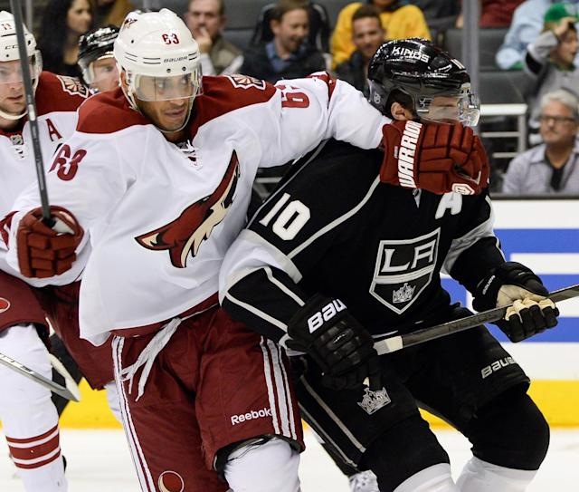 Mike Ribeiro bought out by Coyotes, citing 'behavioral issues'