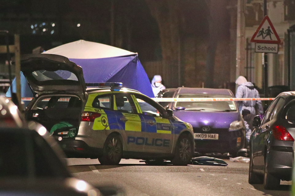 <em>The Metropolitan Police said the teenager was found with stab wounds (PA)</em>