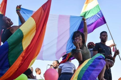 Namibia's gay paraders call for legal protection