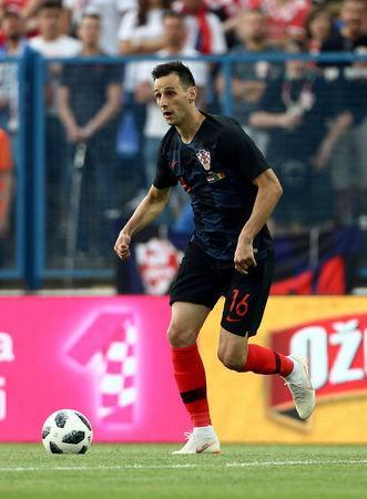 FILE PHOTO: International Friendly - Croatia vs Senegal - Stadion Gradski vrt, Osijek, Croatia - June 8, 2018 Croatia's Nikola Kalinic. REUTERS/Antonio Bronic/File Photo
