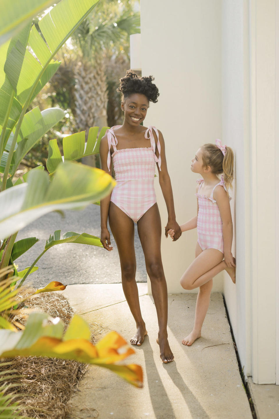 """<p>Twinning! Instagram staple Minnow has partnered with celeb fave Stoney Clover to celebrate the summer with these ridiculously adorable mommy-and-me <a href=""""https://click.linksynergy.com/deeplink?id=93xLBvPhAeE&mid=45504&u1=EWMothersDayGiftGuideBKaplan0421&murl=https%3A%2F%2Fwww.stoneycloverlane.com%2Fcollections%2Fminnow-x-stoney-clover-lane"""" rel=""""nofollow noopener"""" target=""""_blank"""" data-ylk=""""slk:gingham bathing suits"""" class=""""link rapid-noclick-resp"""">gingham bathing suits</a>. </p> <p><strong>Women's Watermelon Smocked One Piece, $200</strong><br><strong>Kids Watermelon Smocked One Piece, $68</strong><br><strong><a href=""""https://click.linksynergy.com/deeplink?id=93xLBvPhAeE&mid=45504&u1=EWMothersDayGiftGuideBKaplan0421&murl=https%3A%2F%2Fwww.stoneycloverlane.com%2Fcollections%2Fminnow-x-stoney-clover-lane"""" rel=""""nofollow noopener"""" target=""""_blank"""" data-ylk=""""slk:stoneycloverlane.com"""" class=""""link rapid-noclick-resp"""">stoneycloverlane.com</a></strong></p>"""