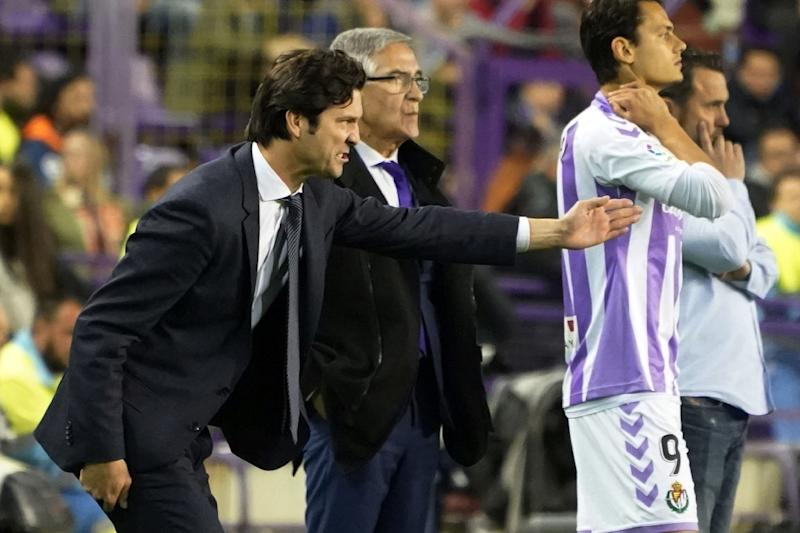 Santiago Solari hangs on as Real Madrid coach after his side came from behind to win 4-1 in Valladolid on Sunday