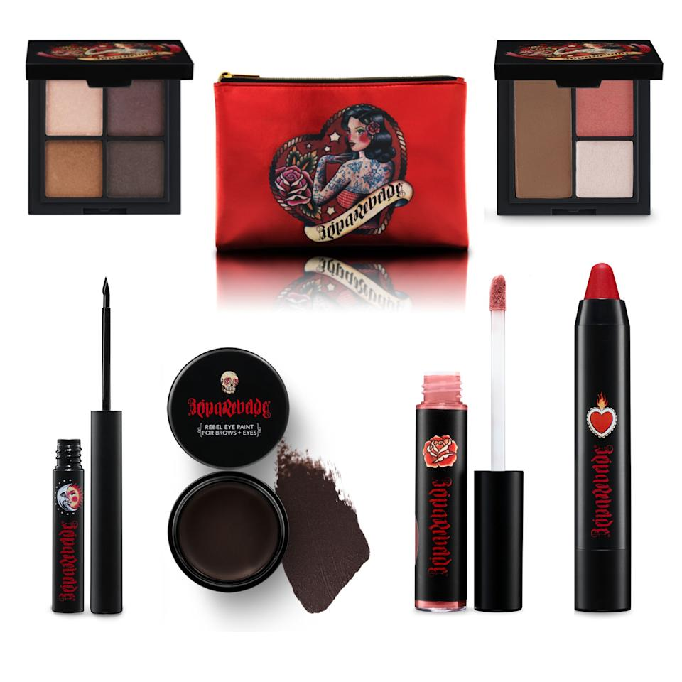 """<a href=""""https://fave.co/2FwOV8i"""" target=""""_blank"""" rel=""""noopener noreferrer"""">Reina Rebelde</a> is a makeup brand with bold colors and sexy packaging. You'll find bright lipsticks and precision eyeliner. The brand was founded by Regina Merson, a Mexican woman with a passion for makeup that she traces back to her favorite telenovelas growing up. Shop Reina Rebelde at <a href=""""https://fave.co/2FwOV8i"""" target=""""_blank"""" rel=""""noopener noreferrer"""">Target</a>."""