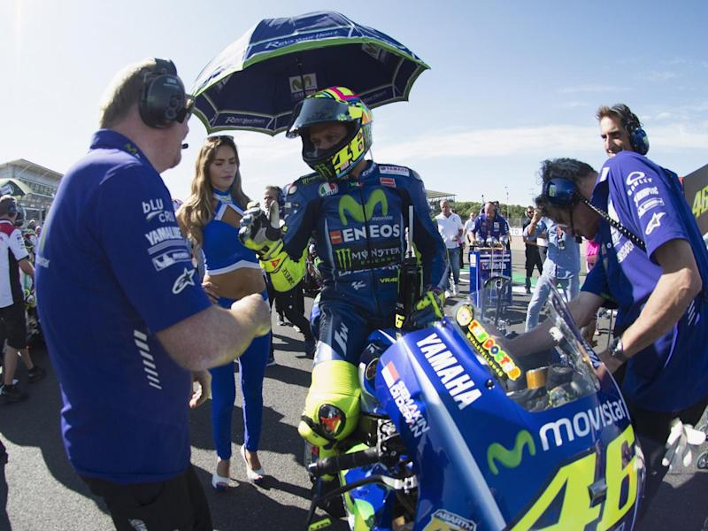 Rossi will need to be passed fit by the Aragon medical delegate (Getty)