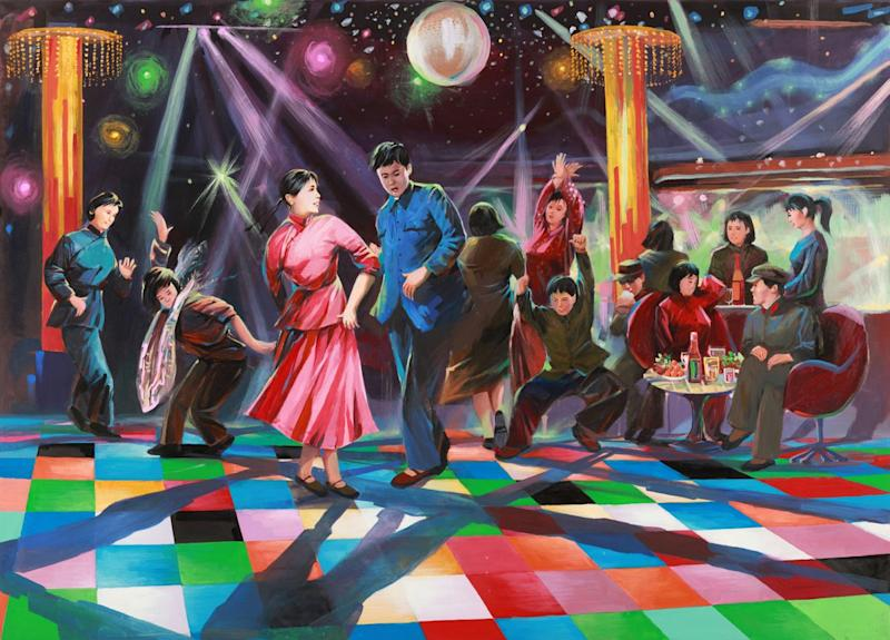 DISCO NIGHT TO ENHANCE THE DAY