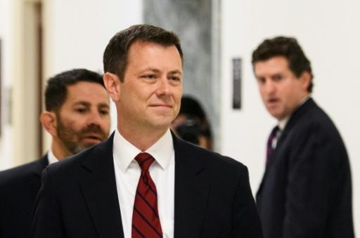 Peter Strzok, the FBI agent President Donald Trump has attacked for alleged political bias against him