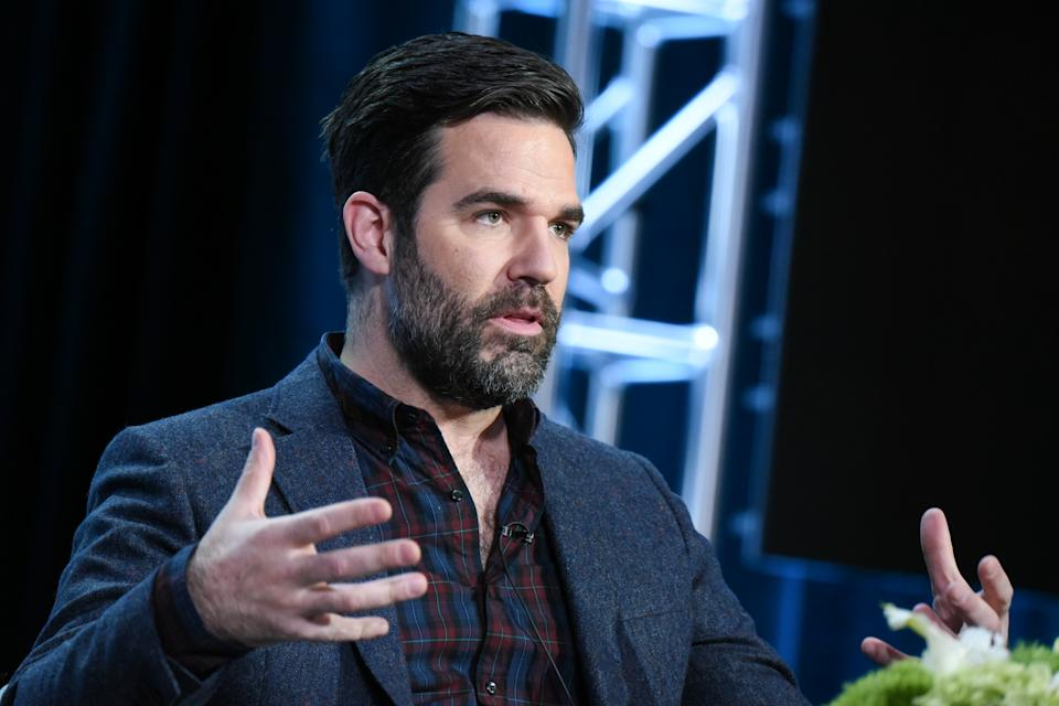 Creator Rob Delaney participates in the