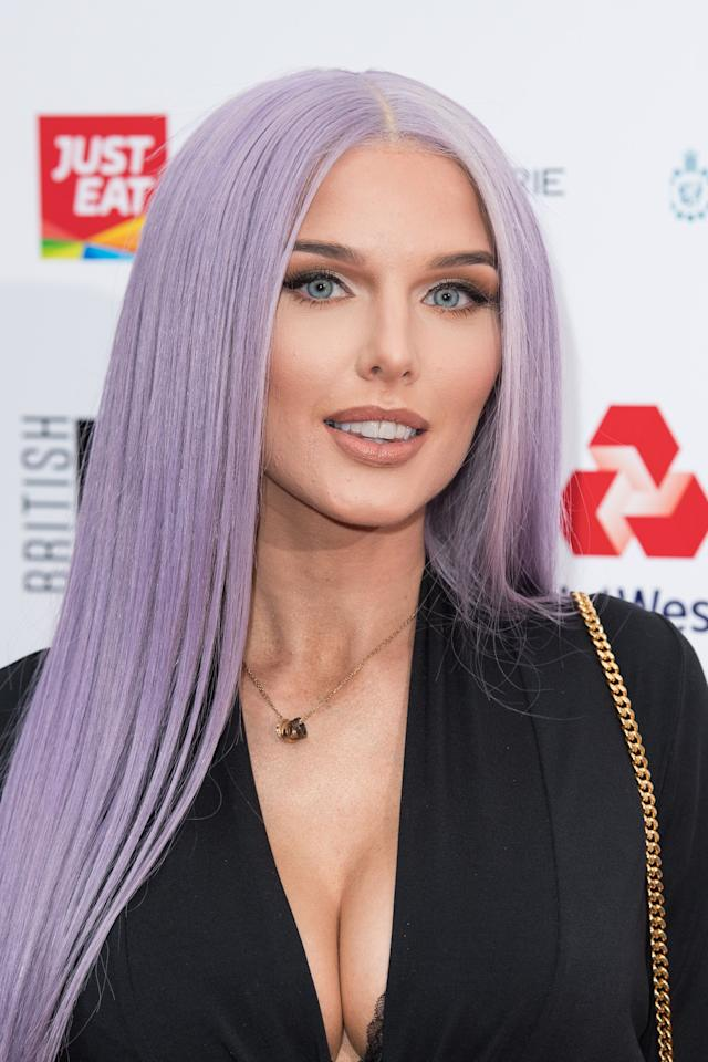 """<p></p><p><a href=""""https://www.digitalspy.com/soaps/coronation-street/""""><em>Coronation Street</em></a>'s Helen Flanagan made the biggest fashion statement on the red carpet at the British LGBT Awards alongside <em><a href=""""https://www.digitalspy.com/strictly-come-dancing/"""" target=""""_blank"""">Strictly Come Dancing </a></em>judge Shirley Ballas, Little Mix star Jade Thirlwall and more at Grosvenor Square.</p><p></p>"""
