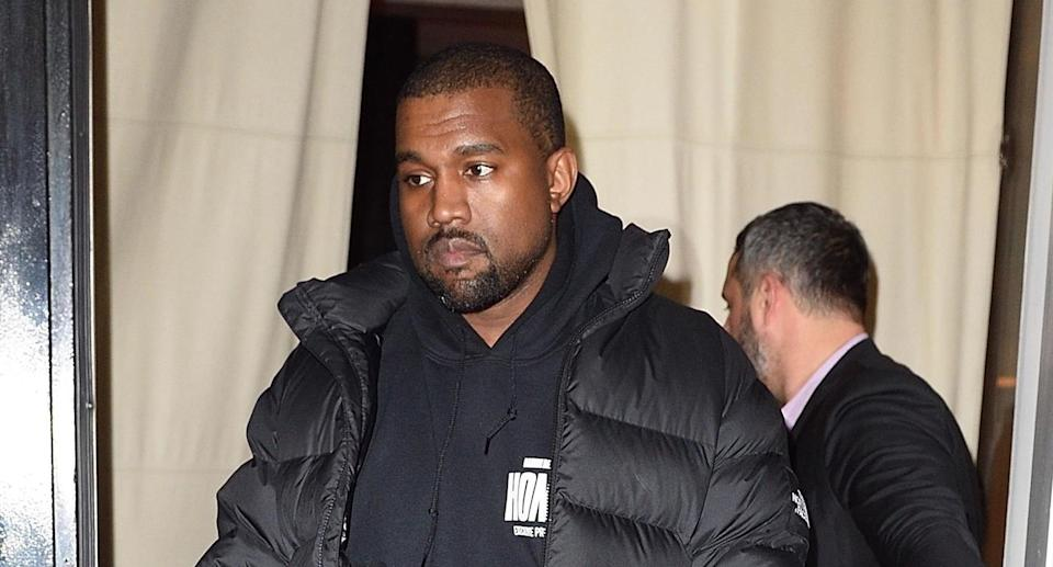 Kanye West is causing a stir in a new interview. (Photo: Backgrid)