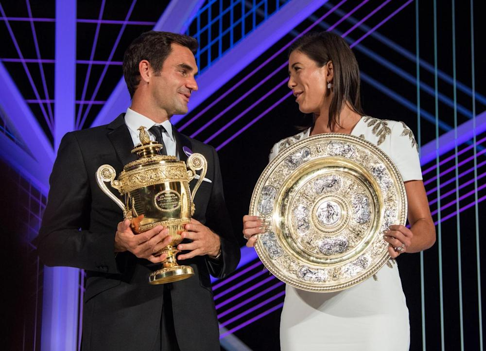 The two champions (Getty)