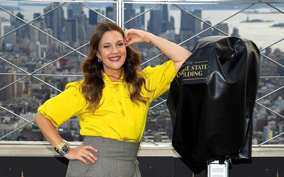 Drew Barrymore's attempt at launching a talk show was soon brought down to earth - Getty NA