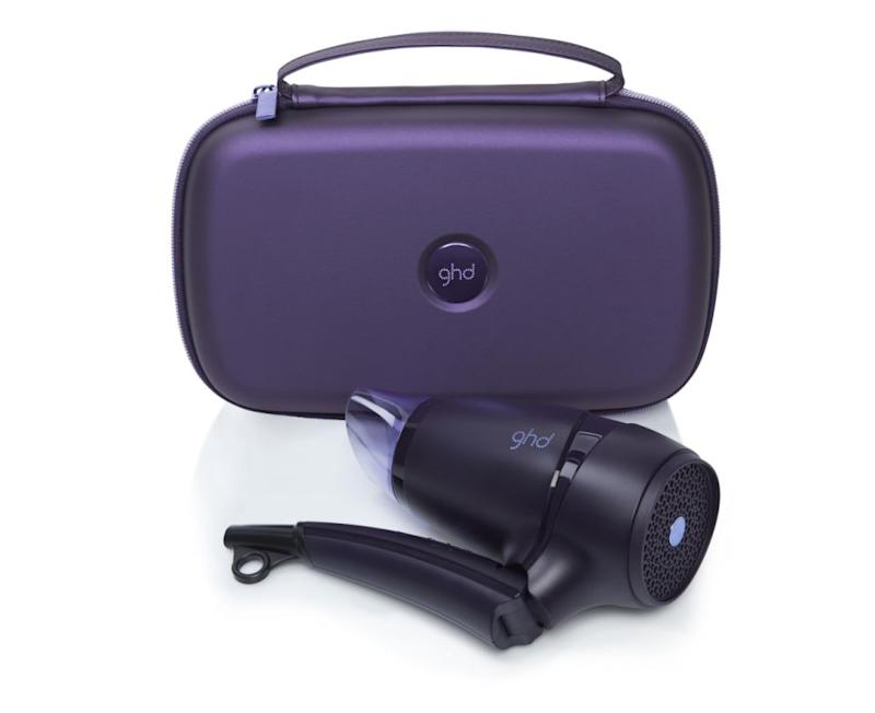GHD's travel hairdryer is amazingly good in every way, basically. Source: GHD