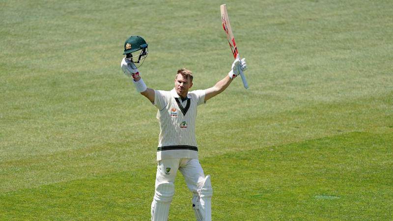 David Warner has smashed only the eighth Test triple-century by an Australian