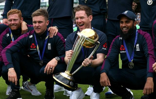 Jonny Bairstow, far left, will hope to help England get their hands on another white-ball trophy when the Twenty20 World Cup gets under way in India next year