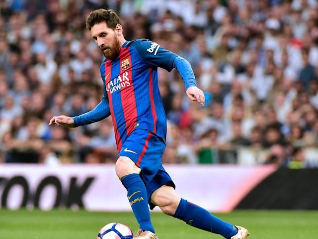 Messi enjoyed a fine game at the Bernabeu (Getty)