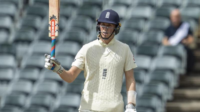England opener Zak Crawley struck 66 from 112 balls on day one of the fourth Test at the Wanderers