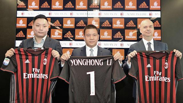 "Li Yonghong hopes his assurances will ""calm down the environment"" around AC Milan after reports he was close to financial ruin."