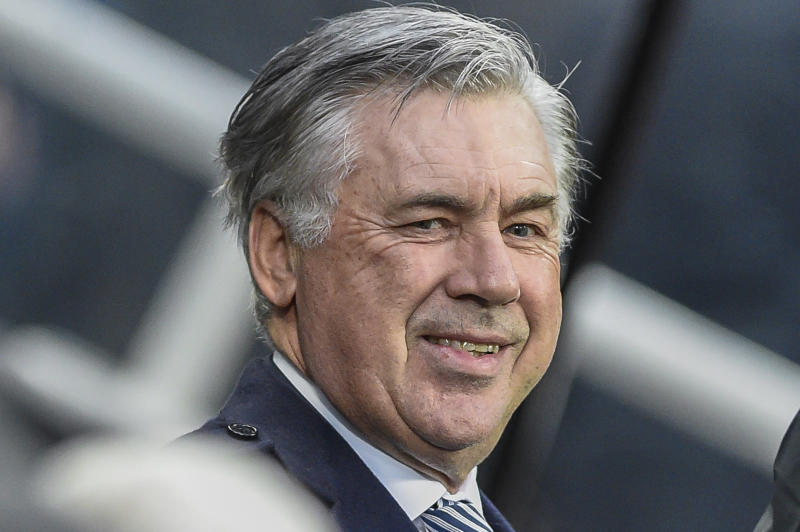 Manager of Everton, Carlo Ancelotti during the Premier League match between Newcastle United and Everton at St. James's Park, Newcastle on Saturday 28th December 2019. (Photo by Iam Burn/MI News/NurPhoto via Getty Images)