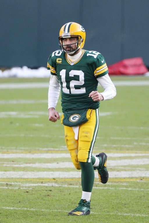Green Bay quarterback Aaron Rodgers was downcast after the Packers' shattering home loss to the Buccaneers