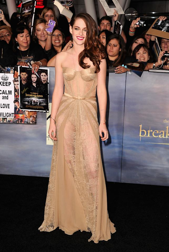 "<strong>Kirsten Stewart</strong><br /> Yes, even Kristen Stewart has been vocal about her wish to kiss Bond on film. But when Daniel Craig heard about her 007 urge, he jokingly protested, ""No, she's in 'Twilight'!"""