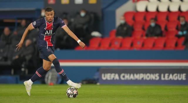 Kylian Mbappe is a fitness doubt for PSG