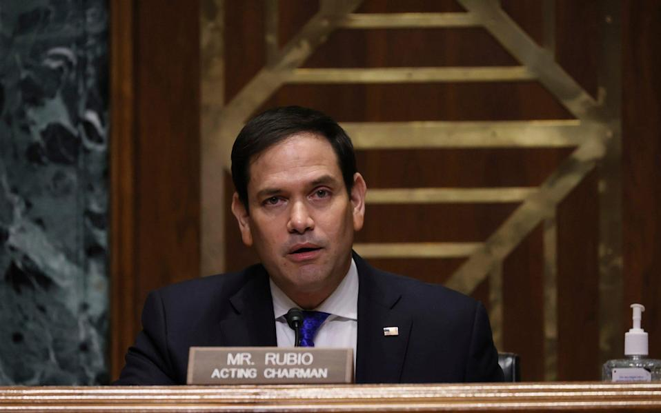 Marco Rubio does not support Mr Biden's immigration plan - GETTY IMAGES