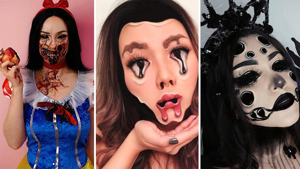 You won't believe some of these Halloween looks are makeup!