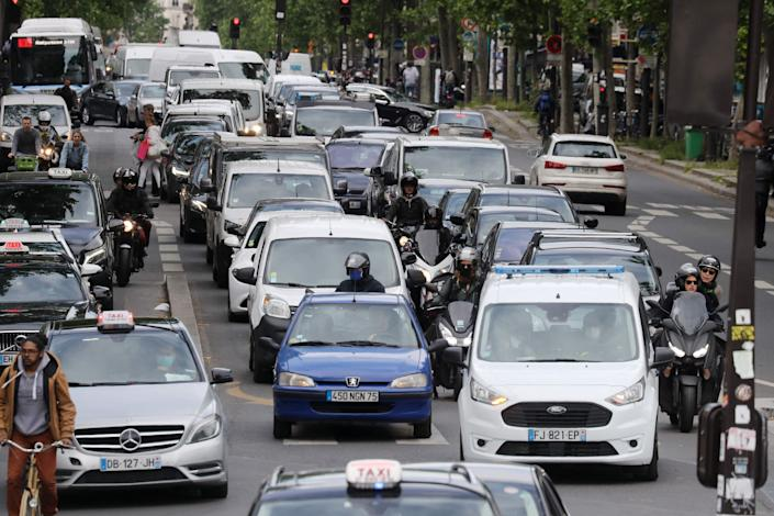 <p>Cyclists, pedestrians and public transport will be prioritised</p> (AFP via Getty Images)