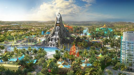 Universal's all-new Volcano Bay water park opens this summer.
