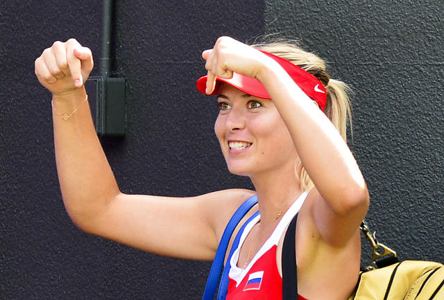 Later that season, won a silver medal at the London Olympics, losing to Williams in the final.