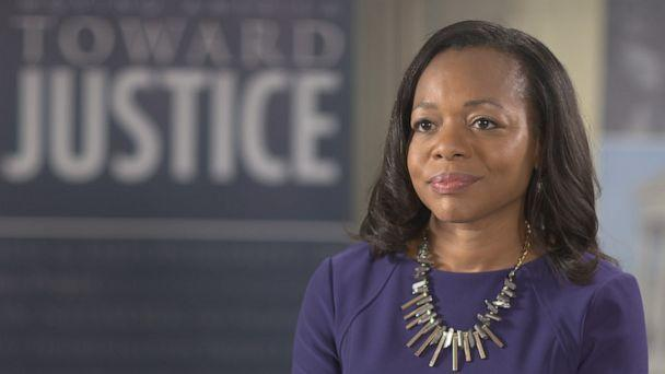 PHOTO: Kristen Clarke, president and executive director of the Lawyers Committee for Civil Rights Under Law, oversees the group's nonpartisan Election Protection voter help hotline. (ABC News)