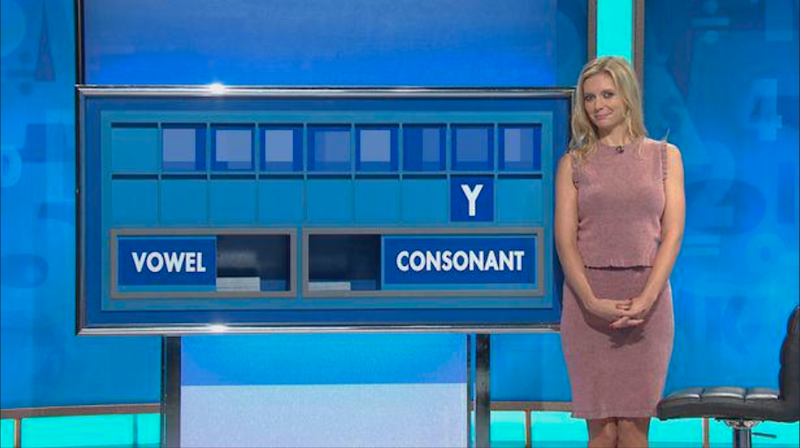 A contestant spelled out a very rude word on Countdown. Photo: Channel 4