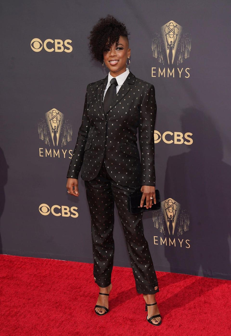 Samira Wiley at the 2021 Emmys.