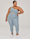 """If you're in the market for something ultra-compressive for runs or other high-intensity workouts, Weldon Smith suggests the brand's Compressive legging. She says it really does it the most, since the legging """"moves with and molds to your body, while providing nice, thick coverage and loads of support."""" $68, Girlfriend Collective. <a href=""""https://www.girlfriend.com/products/dew-compressive-high-rise-legging?"""" rel=""""nofollow noopener"""" target=""""_blank"""" data-ylk=""""slk:Get it now!"""" class=""""link rapid-noclick-resp"""">Get it now!</a>"""