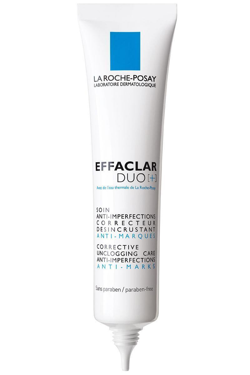 """<p>Salicylic acid and benzoyl peroxide team up to one-two punch acne-causing bacteria and pore blocking gunk in this treatment. </p><p><strong>La Roche-Posay</strong> Effeclar Duo, $37, ulta.com.</p><p><a class=""""link rapid-noclick-resp"""" href=""""https://go.redirectingat.com?id=74968X1596630&url=http%3A%2F%2Fwww.ulta.com%2Feffaclar-duo%3FproductId%3DxlsImpprod3840059&sref=https%3A%2F%2Fwww.harpersbazaar.com%2Fbeauty%2Fskin-care%2Fg11653081%2Fbest-acne-products%2F"""" rel=""""nofollow noopener"""" target=""""_blank"""" data-ylk=""""slk:SHOP"""">SHOP</a><br></p>"""