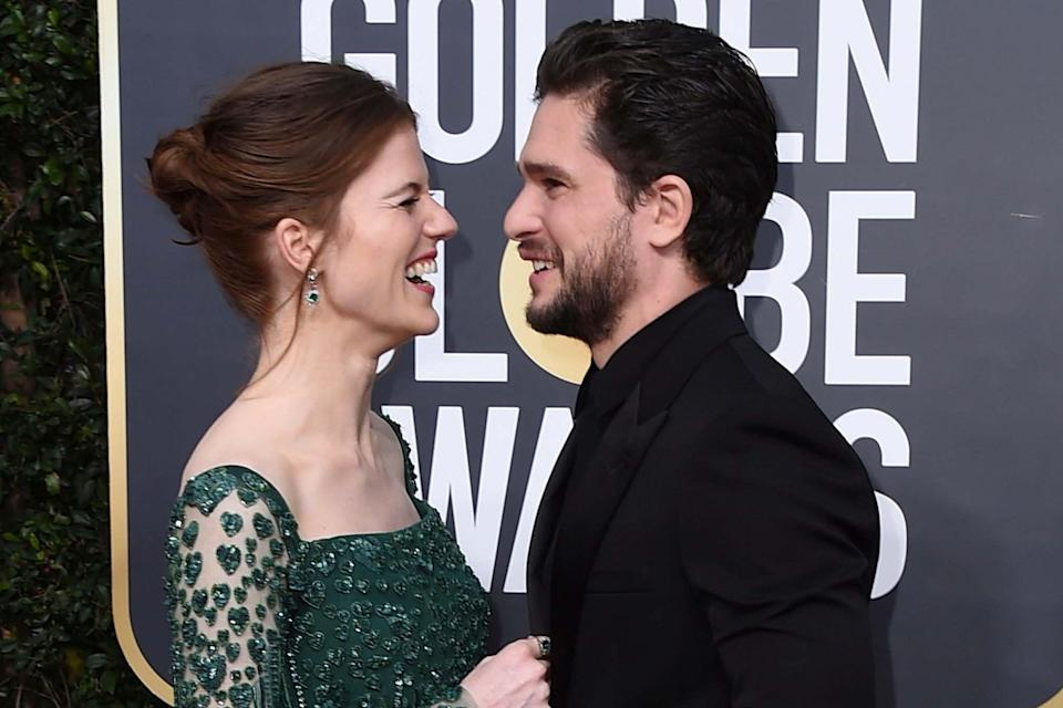 Rose Leslie and Kit Harington are expecting a baby: Jordan Strauss/Invision/AP